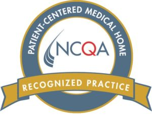 Logo of the NCQA Patient-Centered Medical Home Recognized Practice award