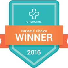 Logo of the OpenCare Patient's Choice Winner 2016 award